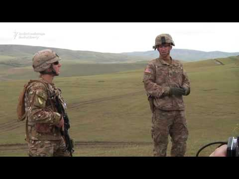 Georgian, U.S. Tanks Train In NATO Exercise Near Tbilisi
