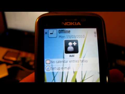 Nokia C5 - 00 menu and features