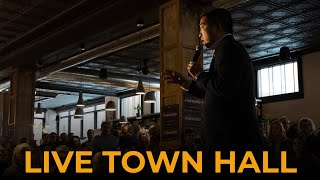 Andrew Yang at Davenport Town Hall - Live Stream