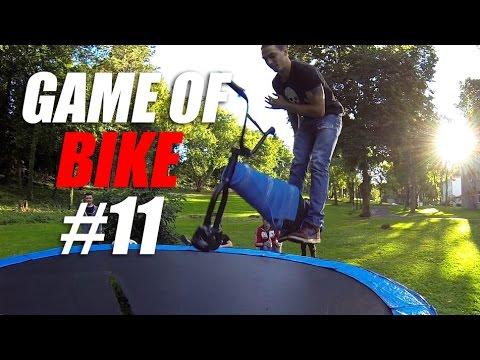 Game of BIKE #11 - BMX vs. БАТУТ