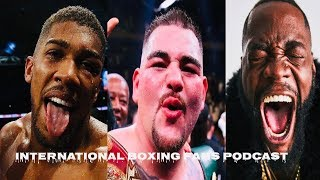 Anthony Joshua Toughest challenge : Andy Ruiz, Deontay Wilder, Dillian Whyte & Tyson Fury