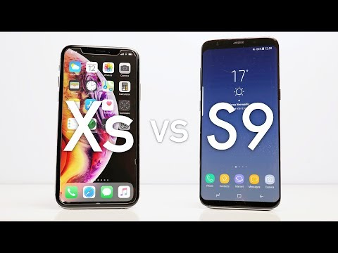 Apple iPhone Xs vs Galaxy S9 - Which One Should You Buy!