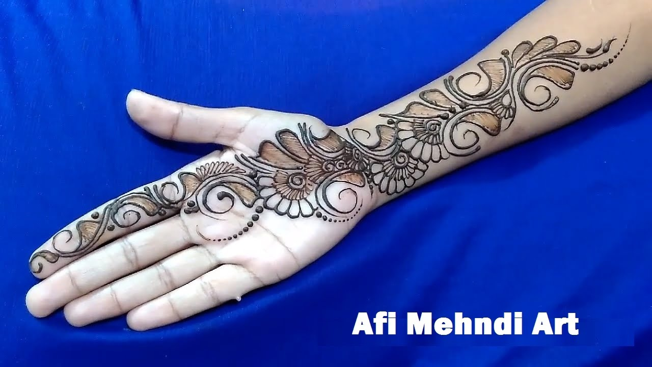 Mehndi design 2017 new model - New Mehndi Design 2017 Bridal Mehndi Design Mehndi Design For Hands Latest Video