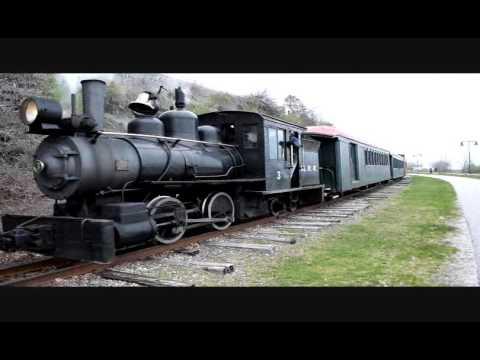 Monson Railroad Steam Locomotive #3  2 Foot Gauge Built in 1913