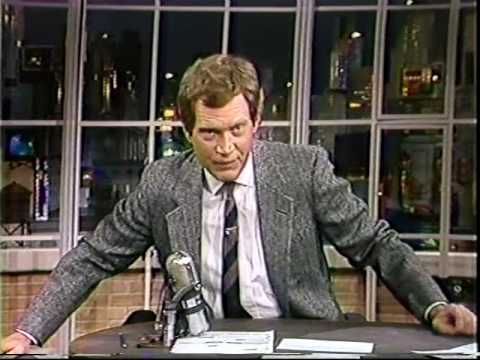 Jerry Beck's five seconds on Late Night (1986)