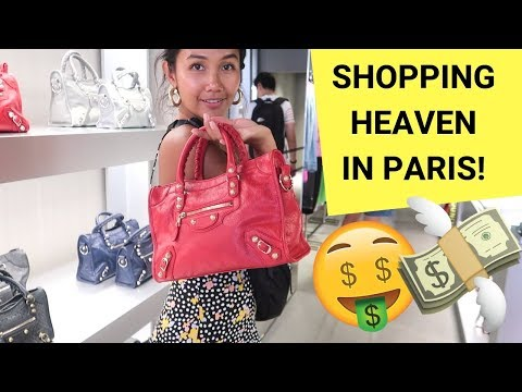 OUTLET SHOPPING IN PARIS! (first Luxury Bag + Haul)