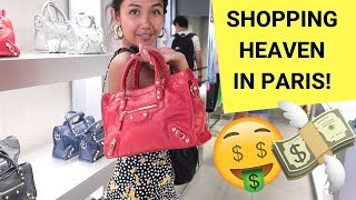Gambar cover OUTLET SHOPPING IN PARIS! (first luxury bag + haul)