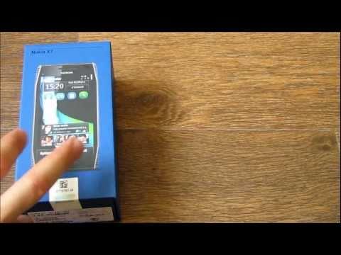 Обзор Nokia X7 Unboxing
