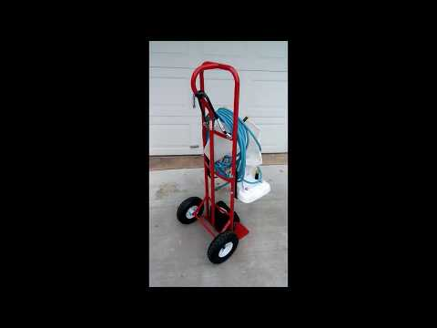 Make a Power Vac PV2100 Cart for only $55. Please Subscribe.