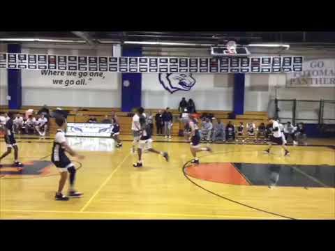 The Potomac School Alumni Game - Jamel Melvin Highlights