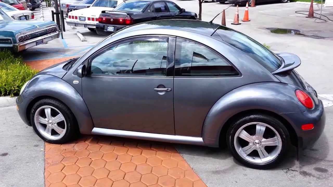 2002 volkswagen beetle gls for sale miami fl youtube. Black Bedroom Furniture Sets. Home Design Ideas