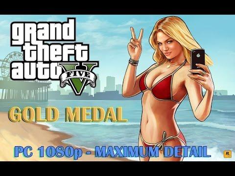 GTA 5 - Prologue (100% Gold Medal) - PC [1080p] Max Settings