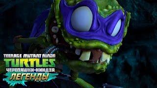 Черепашки-Ниндзя: Легенды ИСПЫТАНИЕ КЛАСС ТЕХНИКА TMNT Legends (IOS/Android Gameplay 2016)