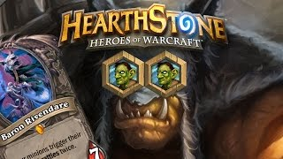 Hearthstone : 32 Damage with a Leper Gnome Miracle