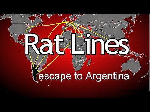 Peter Levenda YouTube Documentary Rat Lines Argentina escape Part 1 of 2 Night Fright Show