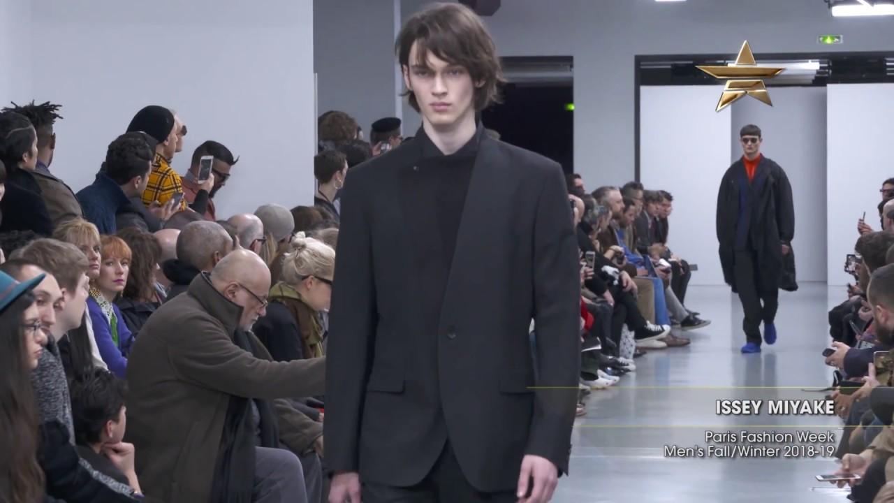 e24e8b859b60 ISSEY MIYAKE Paris Fashion Week Men s Fall Winter 2018-19 - YouTube