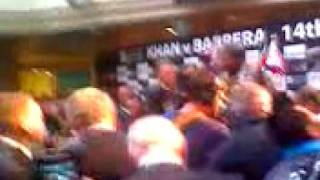 Boxing-Ireland.com - Amir Khan Marco Antonio Barrera weigh in Manchester 14 March 2009 Part 4
