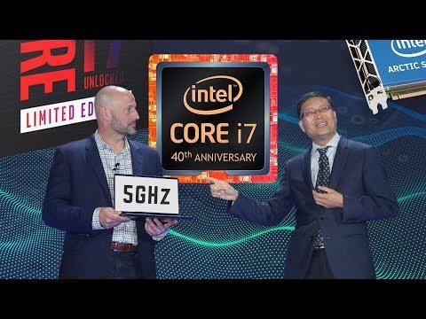 Intel's New 5GHz CPU's & Possible GPU Sneak Peak