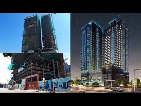 Top Skyline Building 2018 - Diamond Twin Tower Skyline Building Phnom Penh City Cambodia