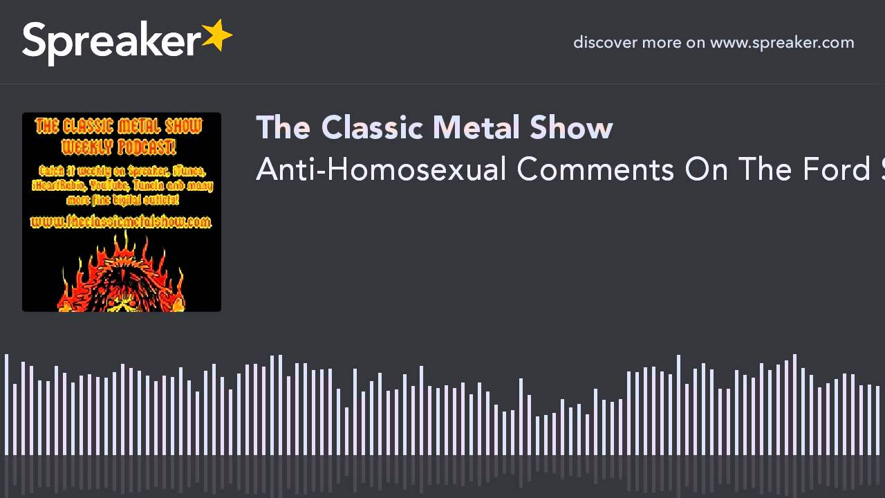 Anti-Homosexual Comments On The Ford Site
