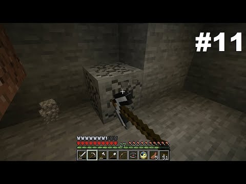 Let's Play HC Minecraft Take Three #11: The Hidden Benefits Of Stone Mining