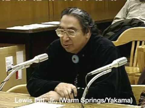 Mourning the loss of Celilo Falls: tribal members speak to Oregon Senate Judiciary