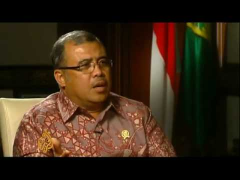Indonesia justice minister attacks Israel