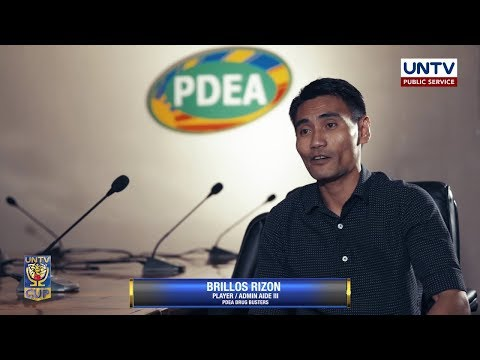HEART OF A CHAMPION: Brillos Rizon of PDEA Drug Busters