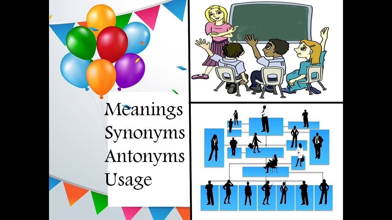 Meanings synonyms antonyms and usage of Hierarchy and Clarify|Hierarchy and Clarify| Learning ...