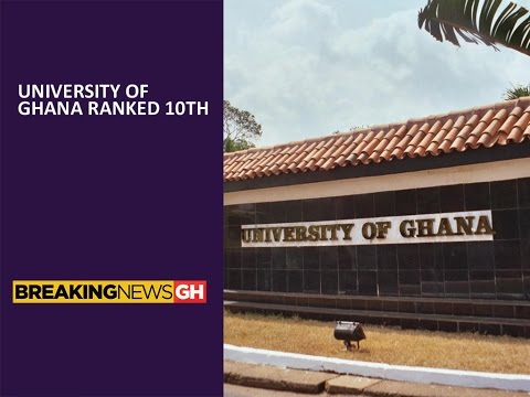 University of Ghana placed 10th in Africa