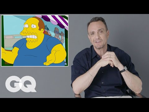 Hank Azaria Breaks Down His Iconic Simpsons Voices And Movie Roles | GQ