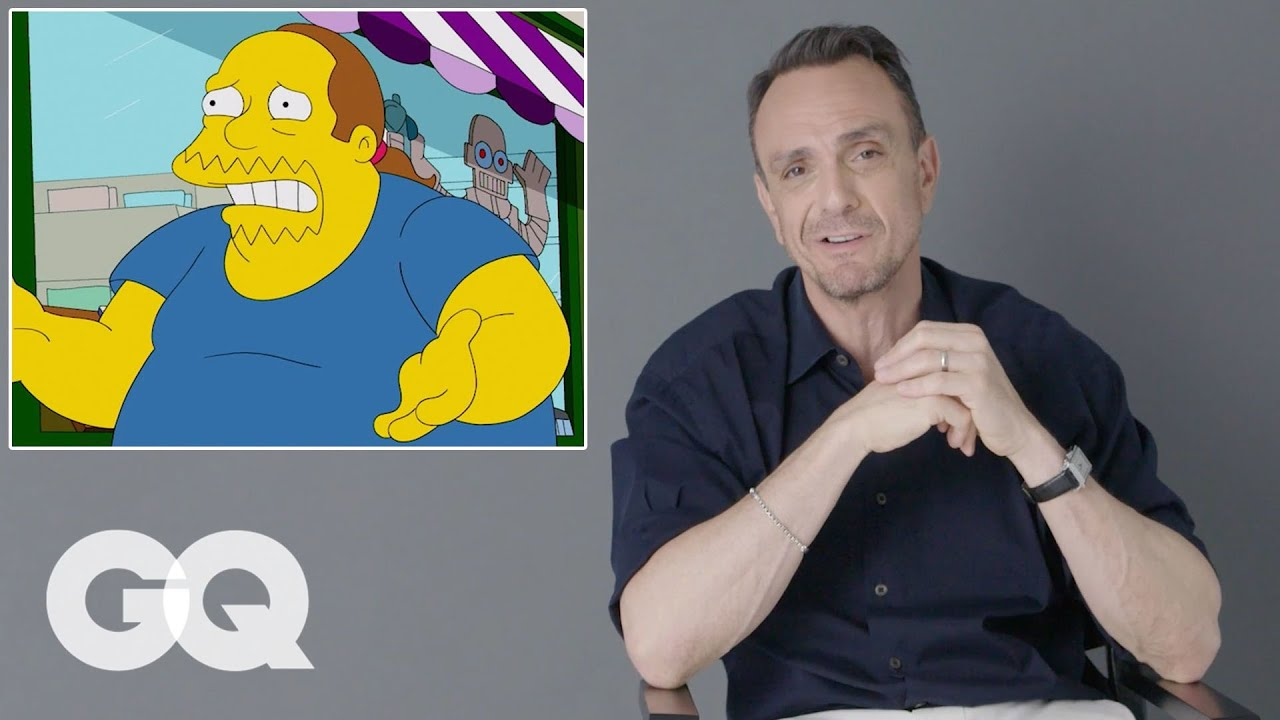Hank Azaria Breaks Down His Iconic Simpsons Voices And Movie Roles Gq Youtube