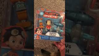Rusty Rivets and Crush pack opening
