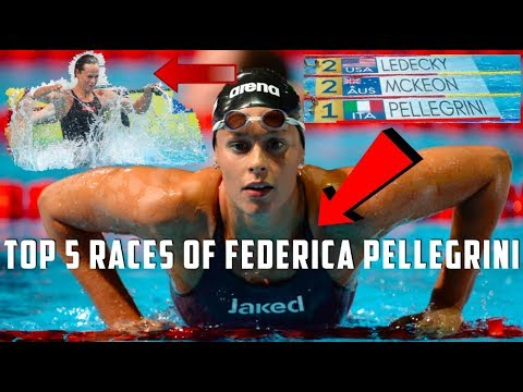 Federica Pellegrini: Top 5 Races of All Time