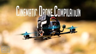 Cinematic Drone Compilation 2019 - my epic FPV Drone Year