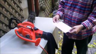 The Black & Decker Blower, Vacuum, Mulcher
