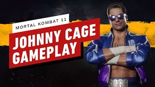 Mortal Kombat 11: High-Level Johnny Cage Gameplay