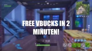 Fortnite: FREE V-BUCKS IN 2 MINUTES