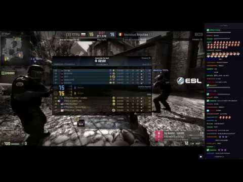 REACTIE OVERTIME IN MAP 3 INVICTUS AQUILAS - CALIFICARE ESEA PREMIER (+CHAT)