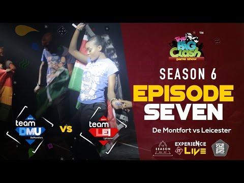 The Big Clash GameShow DeMontfort vs Leicester [S6:E7]