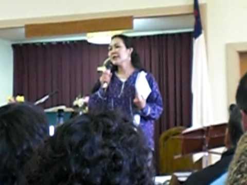 Kayleen Mesak Singing Mercy Came Down