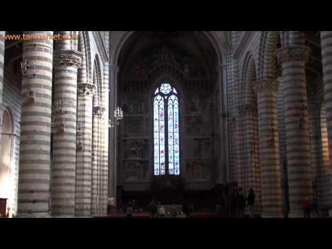 Orvieto Cathedral Interior Zoom to Window (Italy) - youtube.com/tanvideo11