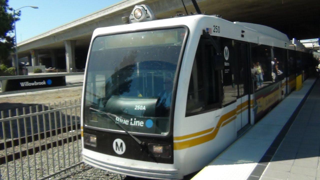 Los Angeles Metro Blue Line Train Ride