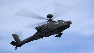 U.S. Army AH-64 Apache Attack Helicopter Lands in Las Vegas for Heli-Expo – AINtv Express