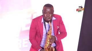 Alex Muhangi Comedy Store Jan 2019 - Happy Kyazze (Mr Saxophone)