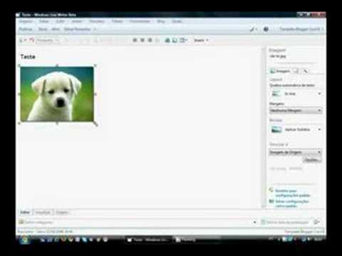 Tutorial Windows Live Writer