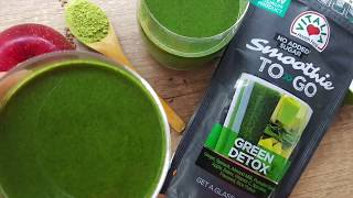 Smoothie TO GO – Green detox (vegan, super foods)