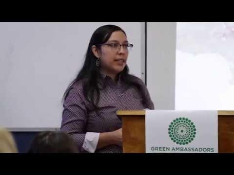 Floridalma Boj Lopez Keynotes Green Ambassadors Institute