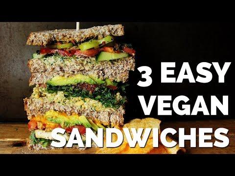 3 Easy Vegan Sandwiches for Back to School!   Two Market Girls