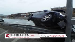 «Կասկադյորական» վթար Արագածոտնի մարզում  26 ամյա վարորդը Opel ով հայտնվել է երկաթե արգելապատնեշի վրա